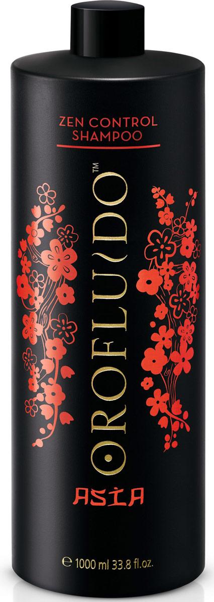 Orofluido Asia Spa Zen Control Shampoo - Шампунь для контроля непослушных волос 1000 мл