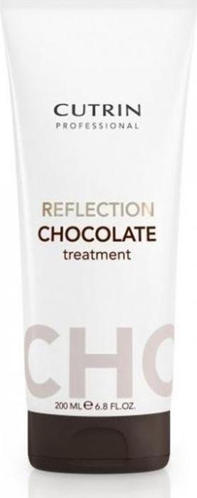 Cutrin Reflection Color Care Mask Тонирующая маска Шоколад, 200 мл маска для волос cutrin reflection color care карамель 200 мл