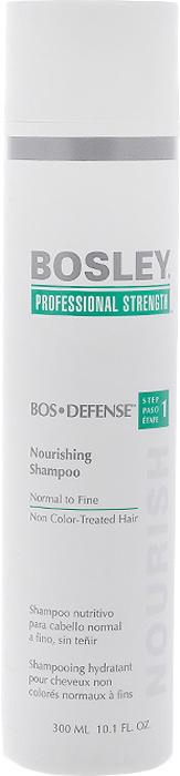 bosley шампунь питательный для нормальных тонких окрашенных волос 300 мл Bosley Шампунь питательный, для нормальных, тонких и неокрашенных волос, 300 мл