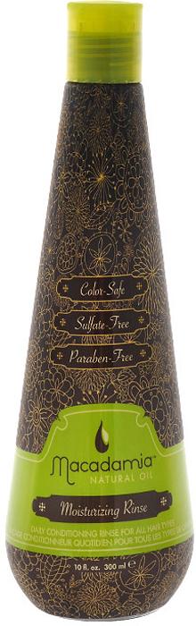Macadamia Natural Oil Кондиционер для волос, увлажняющий, на основе масла макадамии, 300 мл hask macadamia oil увлажняющий кондиционер с маслом макадамии macadamia oil увлажняющий кондиционер с маслом макадамии