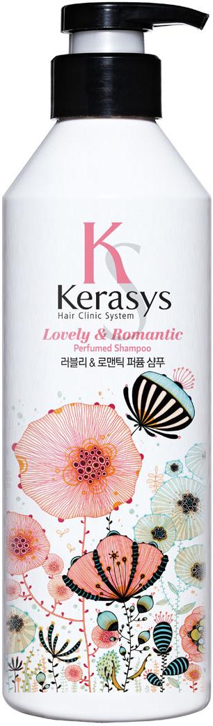 """Kerasys Шампунь для волос """"Perfumed. Романтик"""", 600 мл"""