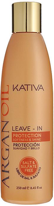 купить Kativa Несмываемый оживляющий концентрат для волос с маслом Арганы ARGAN OIL, 250мл по цене 599 рублей