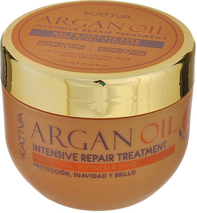 Kativa Интенсивно восстанавливающий увлажняющий уход с маслом Арганы ARGAN OIL