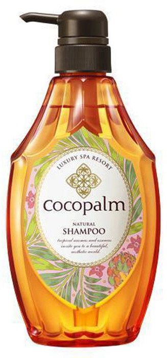 """CocoPalm Шампунь серии Luxury SPA Resort для оздоровления волос и кожи головы """"Cocopalm Natural Shampoo"""" 600 мл"""