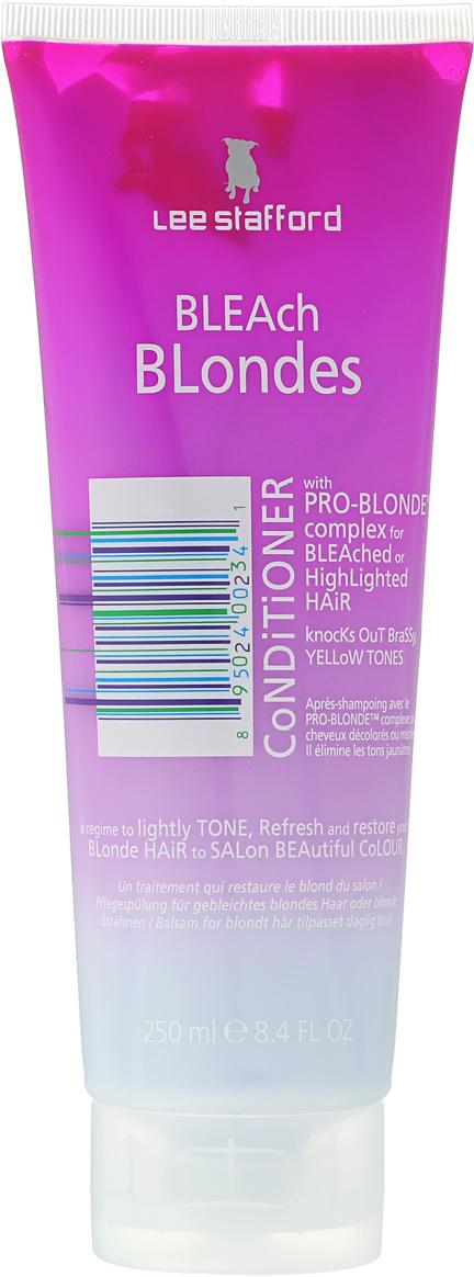 Lee Stafford Кондиционер для осветленных волос Bleach Blonde, 250 мл lee stafford everyday blonde shampoo шампунь для осветленных волос для ежедневного применения