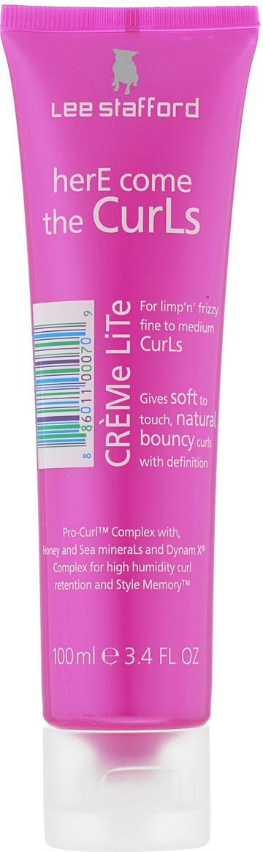 Lee Stafford Легкий крем для вьющихся волос Here Come The Curls, 100 мл