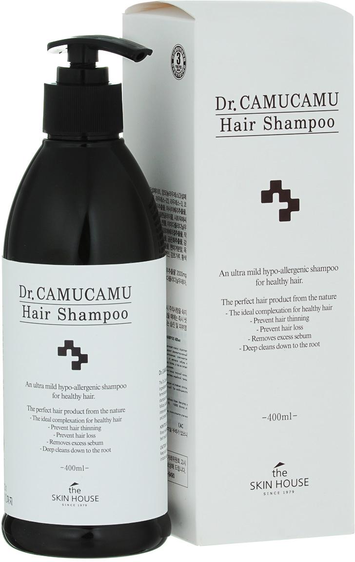 The Skin House Лечебный шампунь DR. Camucamu hair shampoo, 400 мл
