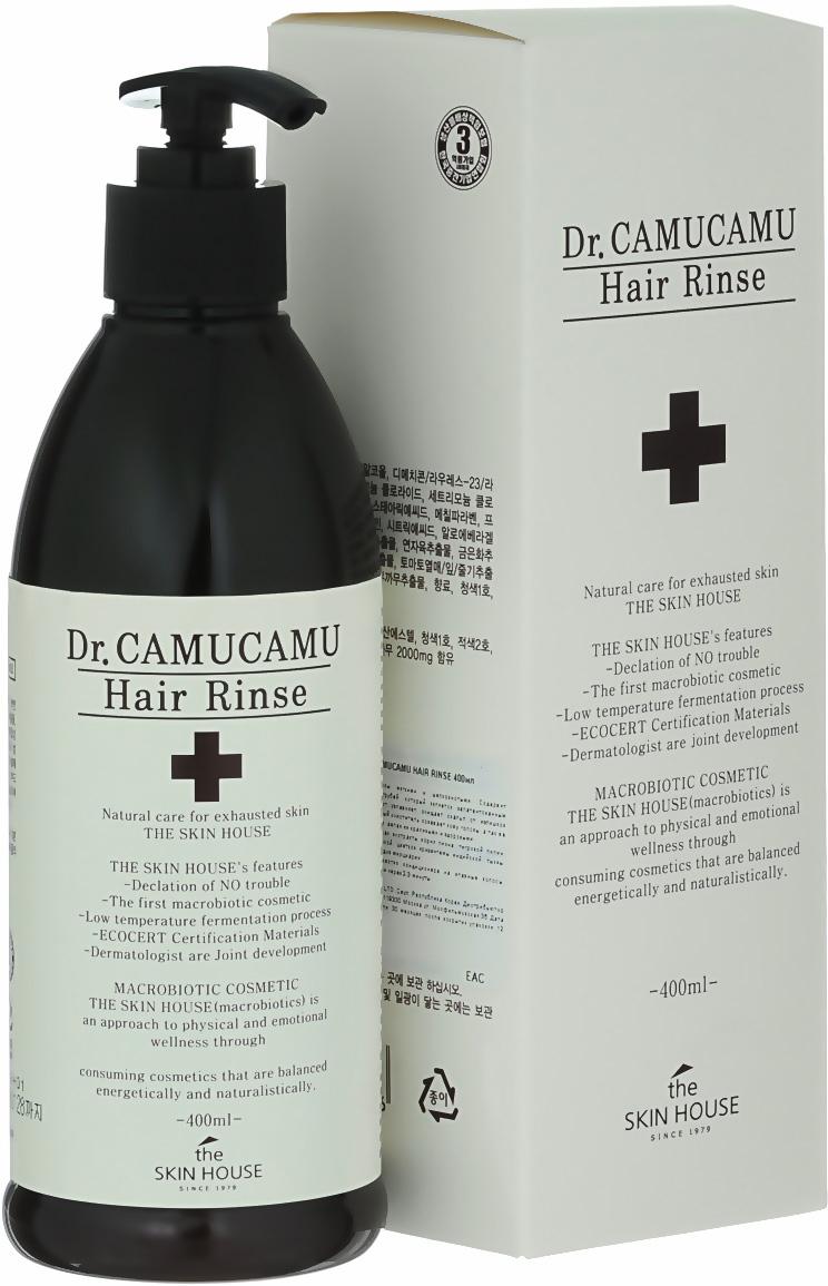 The Skin House Лечебный бальзам для волос DR. Camucamu hair rinse, 400 мл