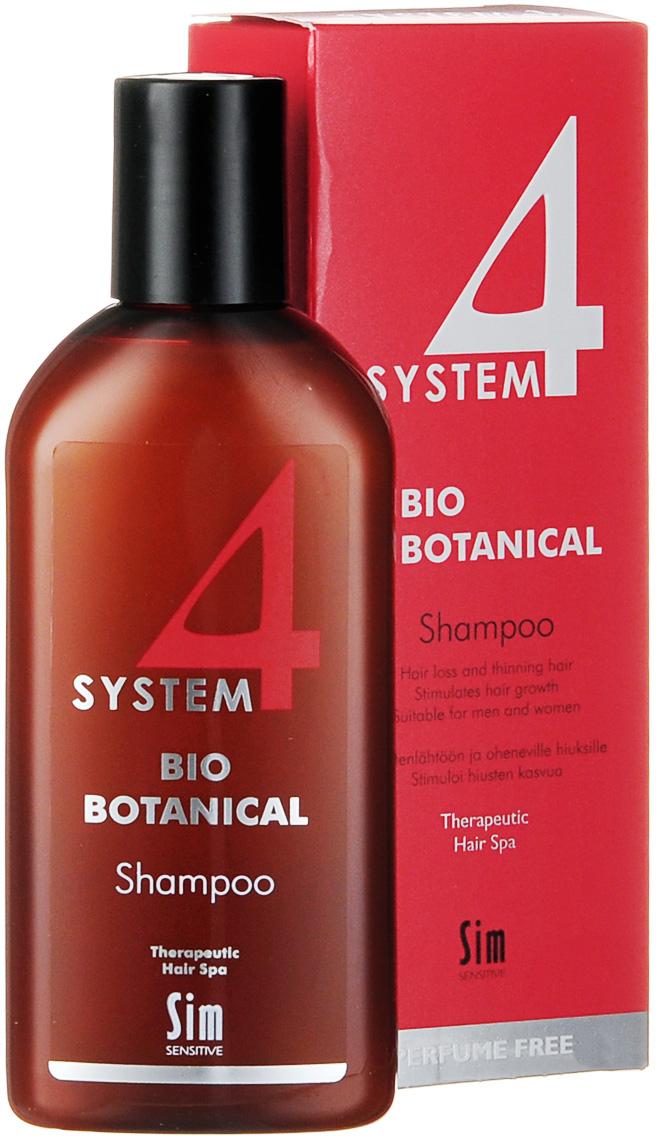 купить SIM SENSITIVE Био Ботанический Шампунь SYSTEM 4 Bio Botanical Shampoo Био, 215мл по цене 1882 рублей