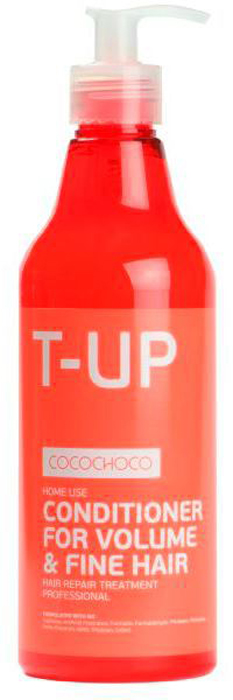 CocoChoco BOOST-UP Кондиционер для придания объема 250 мл franck provost дуо наборр keratin miracle набор для восстановления и придания силы волосам шампунь кондиционер