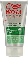 Гель для укладки коротких волос Wella Forte, очень сильная фиксация, 150 мл гель для укладки волос выпрямляющий smooth 150 мл