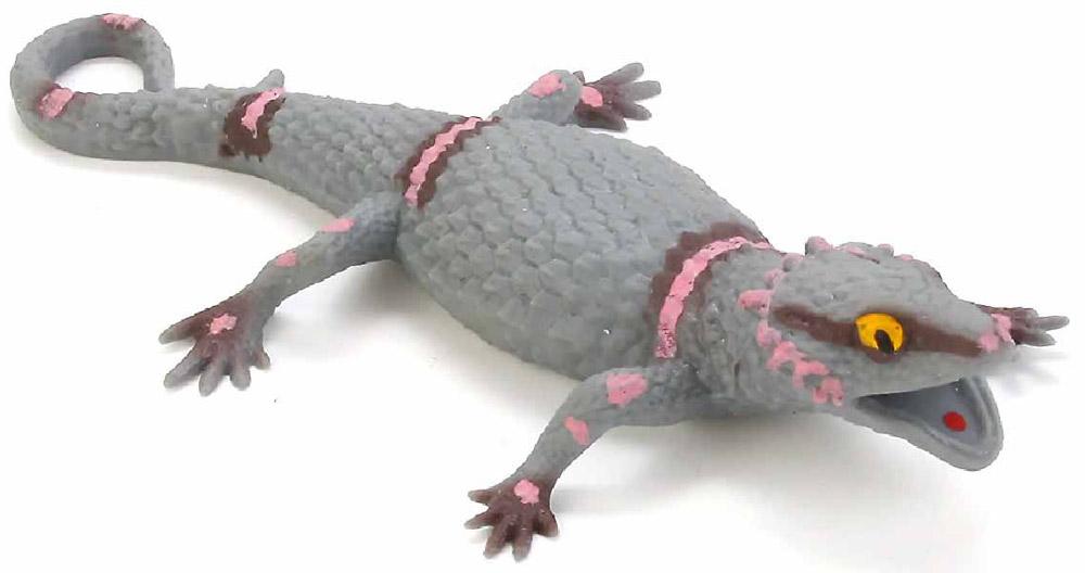 Играем вместе Игрушка Ящерица-тянучка играем вместе фигурка дракон тянучка цвет фиолетовый