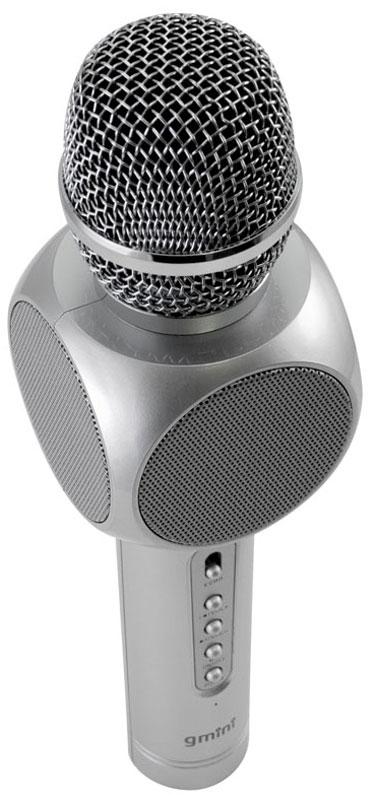 Gmini GM-BTKP-03, Silver караоке-микрофон kk 426 фигурка рыба звездочет шамот
