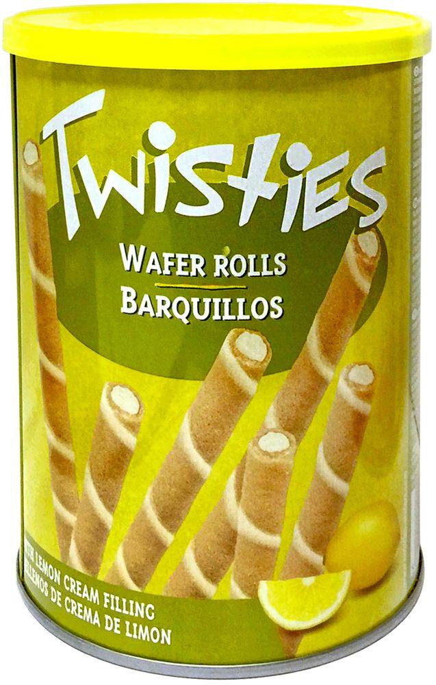 Twisties Вафельные трубочки с лимонным кремом, 400 г
