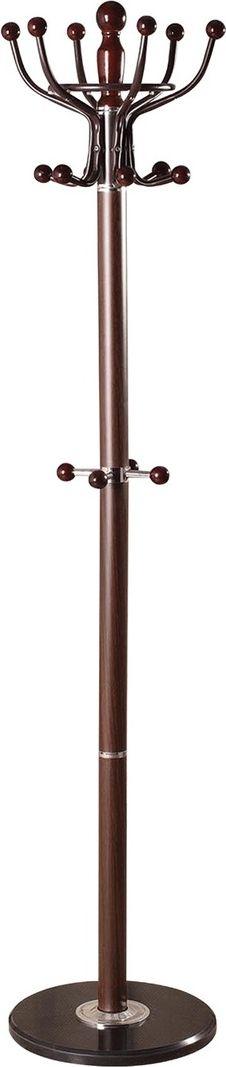 Вешалка-стойка Brabix CR-282, высота 1,8 м. 601745 вешалка стойка brabix cr 274 металл мрамор 1 8 м на диске диаметр 38см 5 крючков 4 дополнительных венге 601744