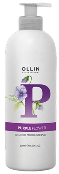 "Ollin Professional Soap ""Purple Flower"" Жидкое мыло для рук, 500 мл"