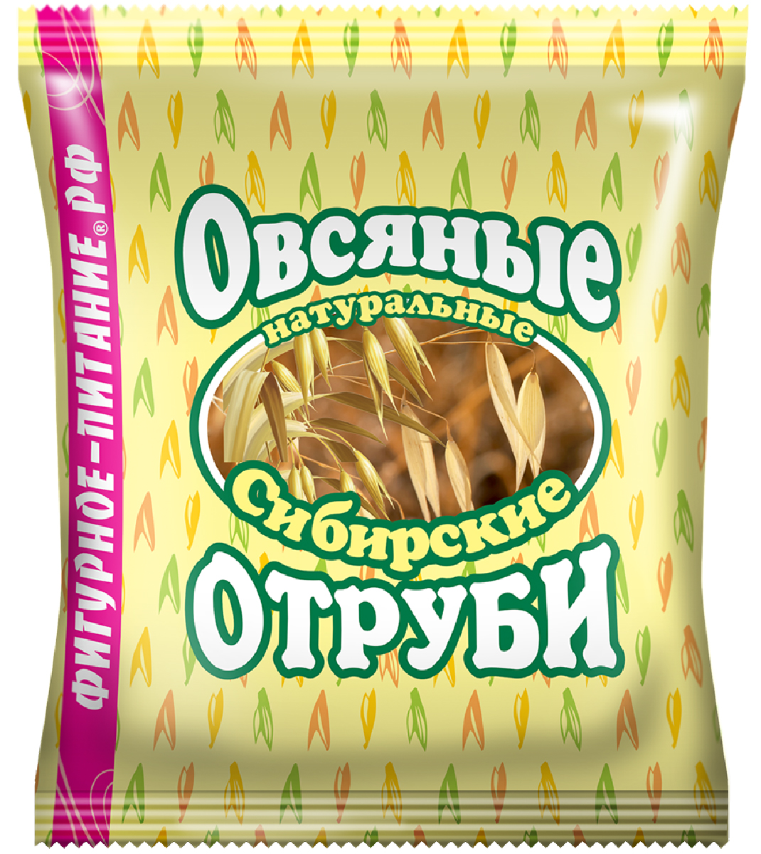 Сибирские Отруби овсяные натуральные, 200 г