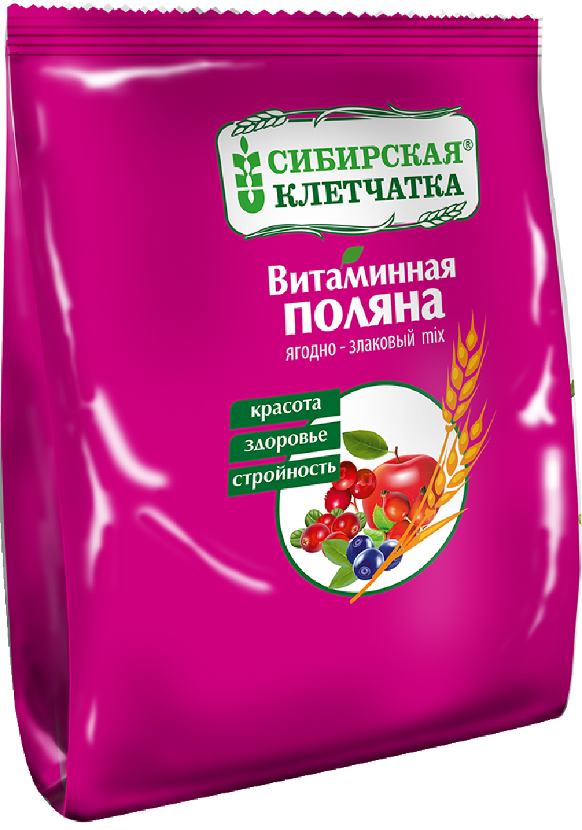 Сибирская Клетчатка витаминная поляна, 300 г