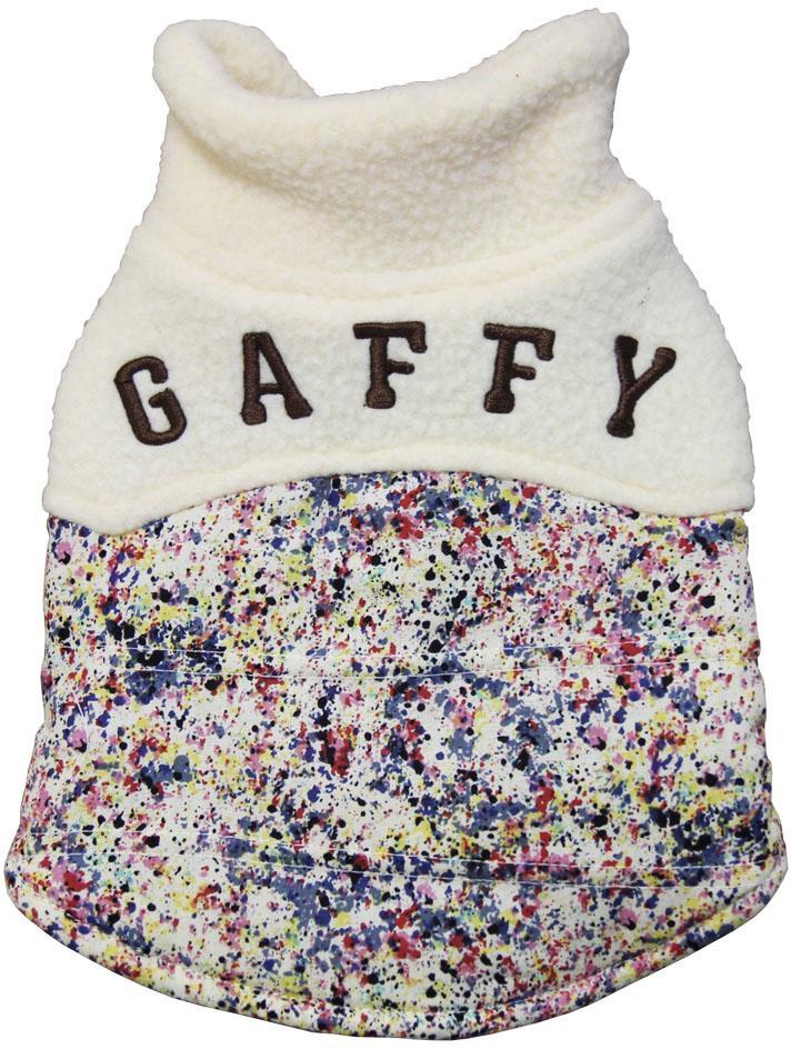 """Куртка для собак Gaffy Pet """"Khaki Print"""", унисекс, цвет: мультицвет. Размер M"""