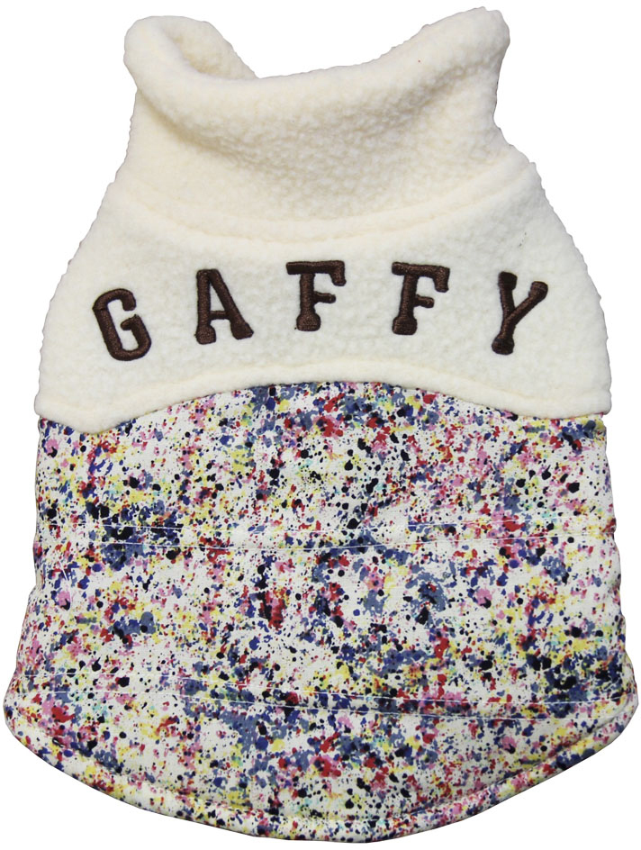 "Куртка для собак Gaffy Pet ""Khaki Print"", унисекс, цвет: мультицвет. Размер XS"