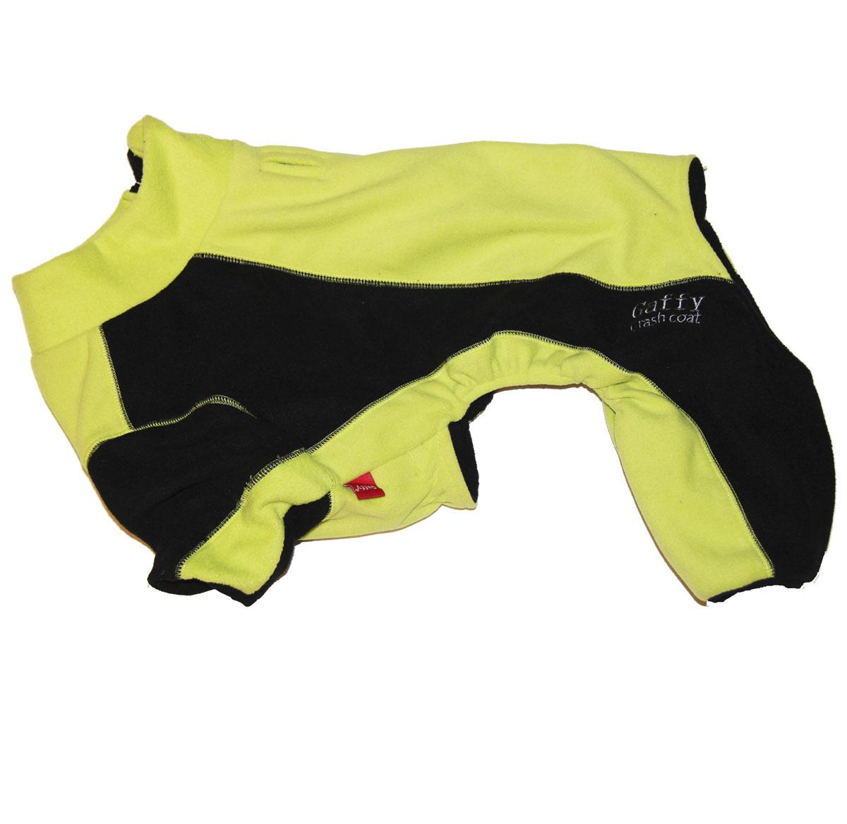 Комбинезон для собак Gaffy Pet, унисекс, цвет: салатовый, черный. Размер L