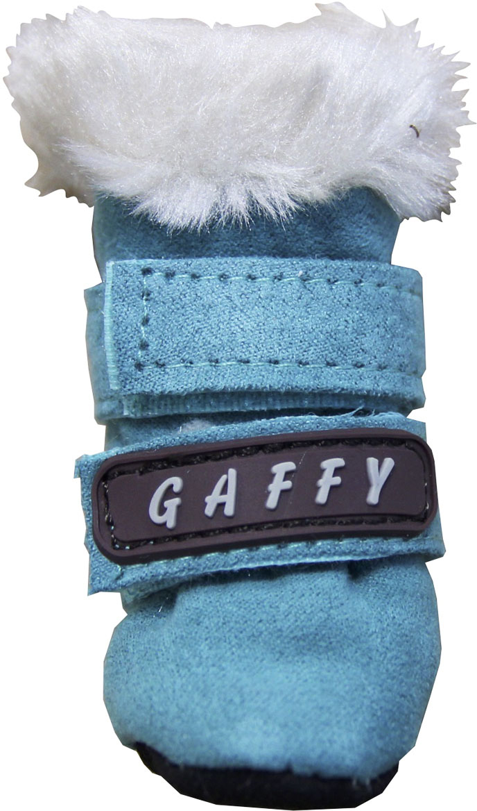 """Ботинки для собак """"Gaffy Pet"""", цвет: бирюзовый. Размер XS"""