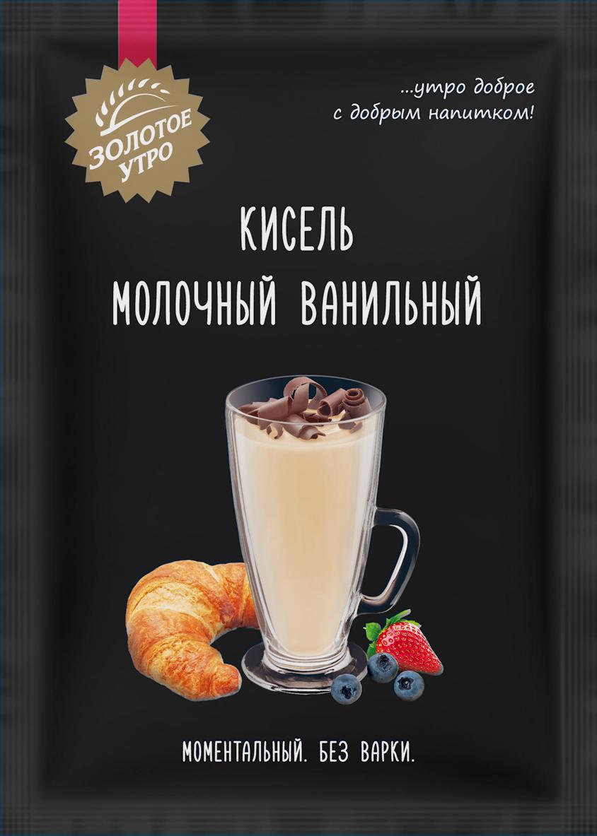 Пудовъ кисель молочный ванильный, 40 г цены