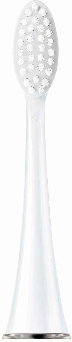 Насадка CS Medica SP-31-WT для электрической зубной щетки CS Medica CS-333-WT, 2 шт насадка для ирригатора ap 32 для портативных ирригаторов cs medica ортодонтальные 2шт