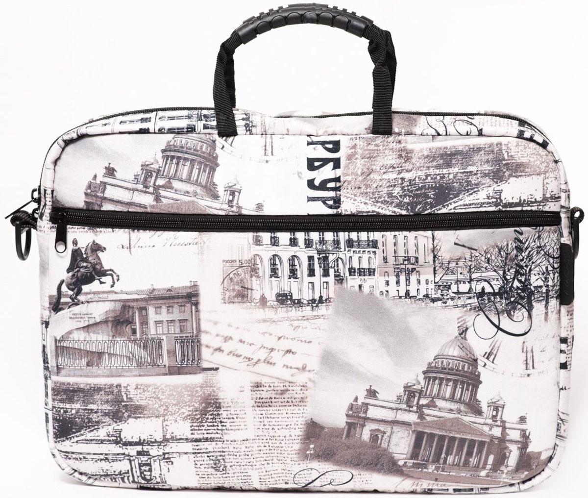 "Vivacase Petersburg, Quartz сумка для ноутбука 15,6"""