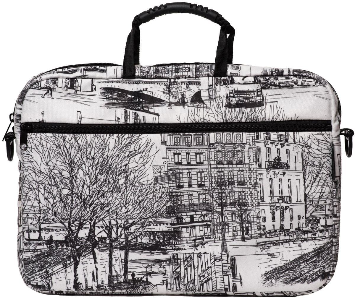 "Vivacase Streets, Zircon сумка для ноутбука 15,6"""