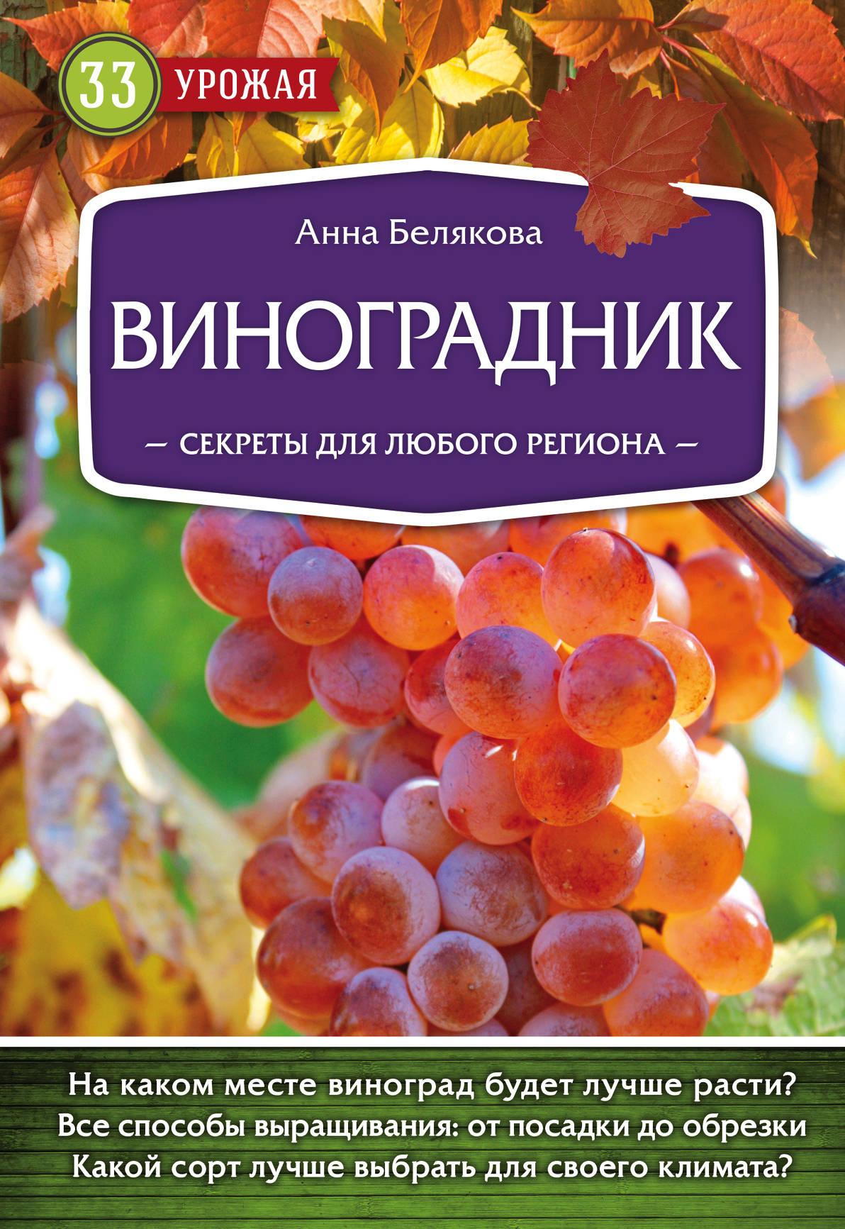 Анна Белякова Виноградник. Секреты для любого региона