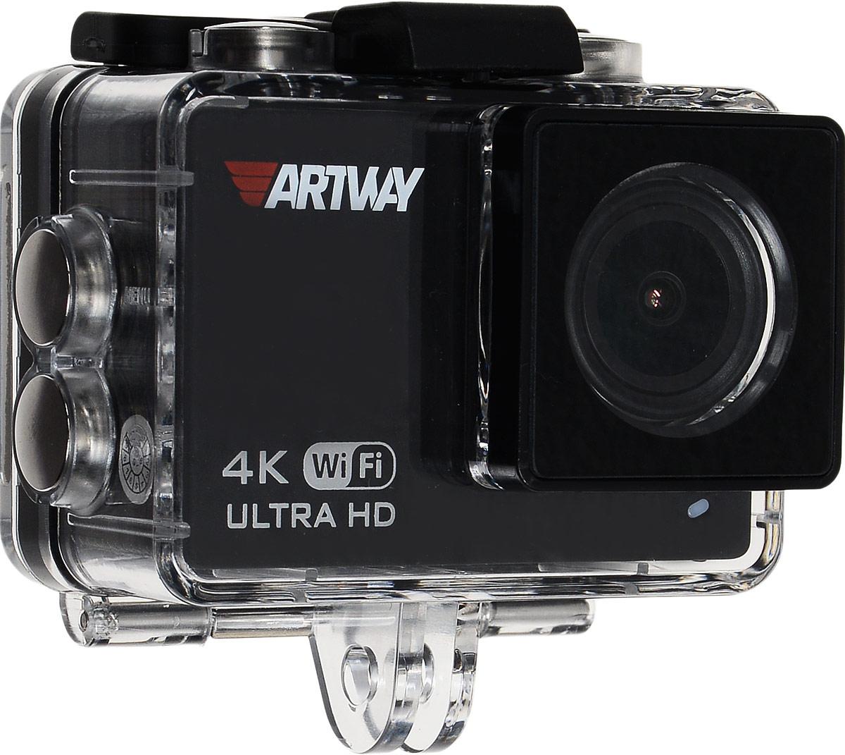Artway AC-905, Black видеорегистратор + экшн-камера