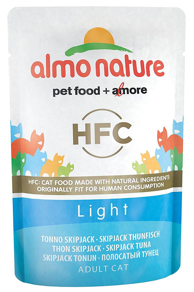 Консервы Almo Nature Classic Light для кастрированных котов и стерилизованных кошек, с полосатым тунцом, 55 г консервы almo nature classic light для кастрированных котов и стерилизованных кошек с полосатым тунцом 55 г