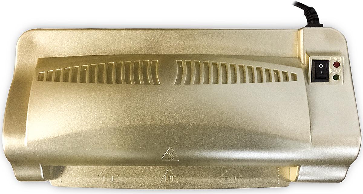Ламинатор бумаги Гелеос ЛМ A4-2, цвет золотой Гелеос