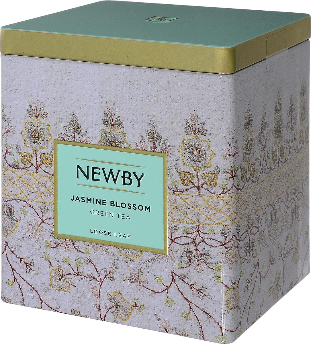 Newby Jasmine Blossom зеленый листовой чай, 125 г цена в Москве и Питере