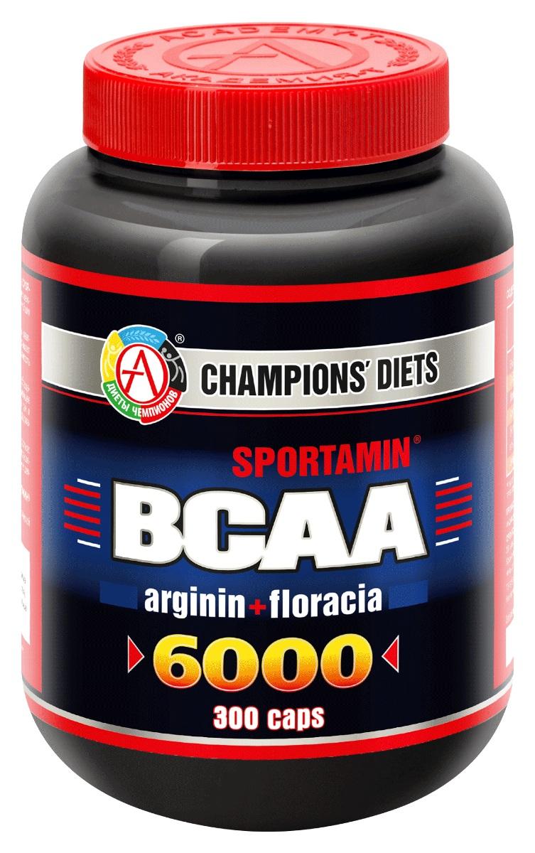 "BCAA 6000 Спортамин"" 300 капсул, 240"