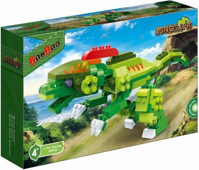 BanBao Пластиковый конструктор Динозавр 175 деталей конструктор banbao кафе мороженое 223 деталей 6117