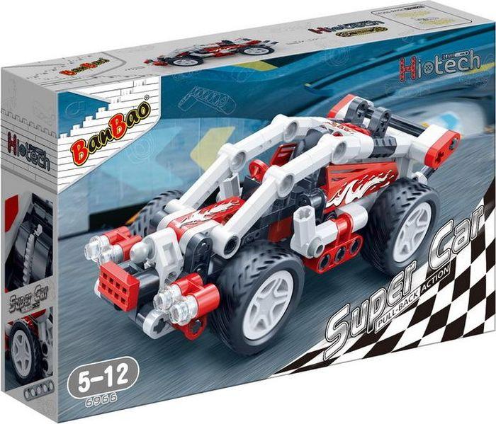 BanBao Пластиковый конструктор Гоночная машина 138 деталей 6966 стоимость