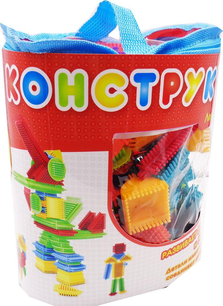 KidBlock Пластиковый конструктор Кид Блок со щетинками 90 деталей PT-00783