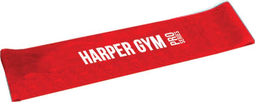 """Эспандер для фитнеса Harper Gym """"NT961Q"""", замкнутый, цвет: красный, 10 кг"""