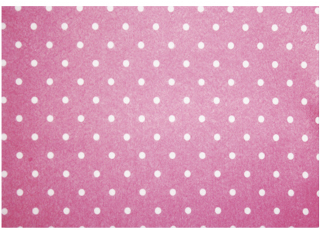 """Фетр листовой декоративный Астра """"Горох"""", цвет: розовый, 20 х 30 см, 5 шт"""