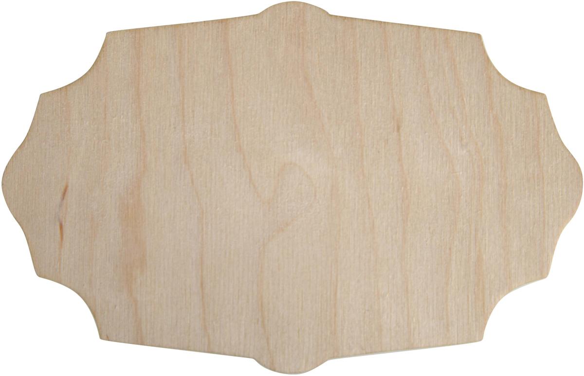 Заготовка деревянная Decoriton Панно №15, 15 х 10 х 0,3 см idigo заготовка для декорирования из пенопласта корова 15 9см dz1501