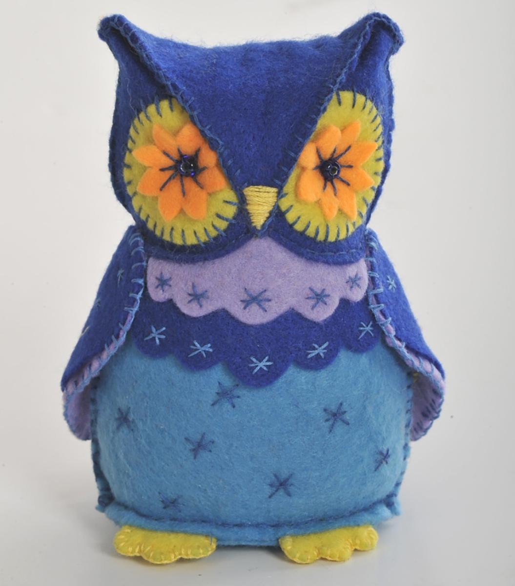 цена на Набор для создания игрушки Перловка Мудрая сова