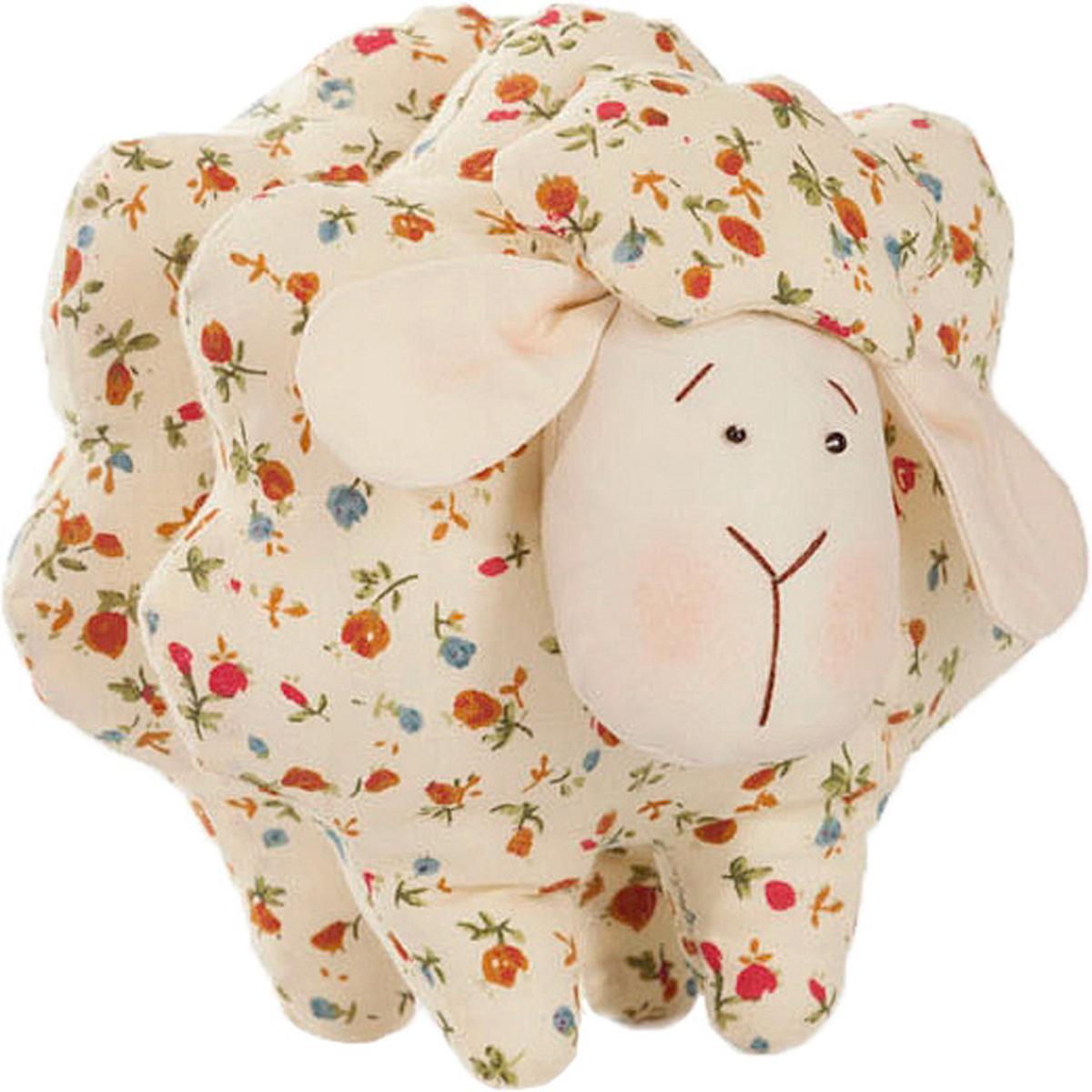 Набор для шитья игрушки Цветница Овечка Карамелька, 13 см набор для творчества цветница набор для шитья текстильной игрушки зайка дачница