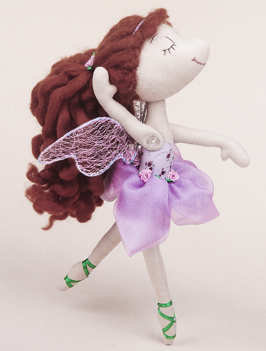 Набор для создания куклы Miadolla Балерина Ева, высота 27 см набор луп для рукоделия gamma 3 шт