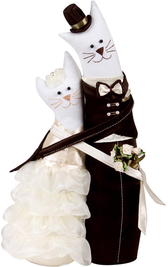 """Набор для рукоделия Miadolla """"Коты-обнимашки свадебные"""". C-0152"""