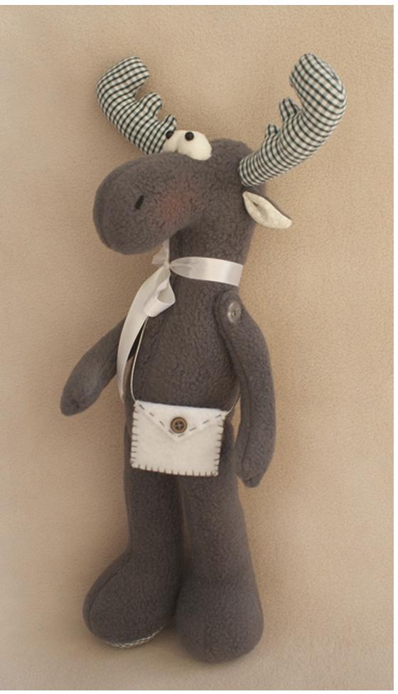 """Набор для изготовления игрушки Ваниль """"Elk Story. Лось"""", 36 см. EL001"""