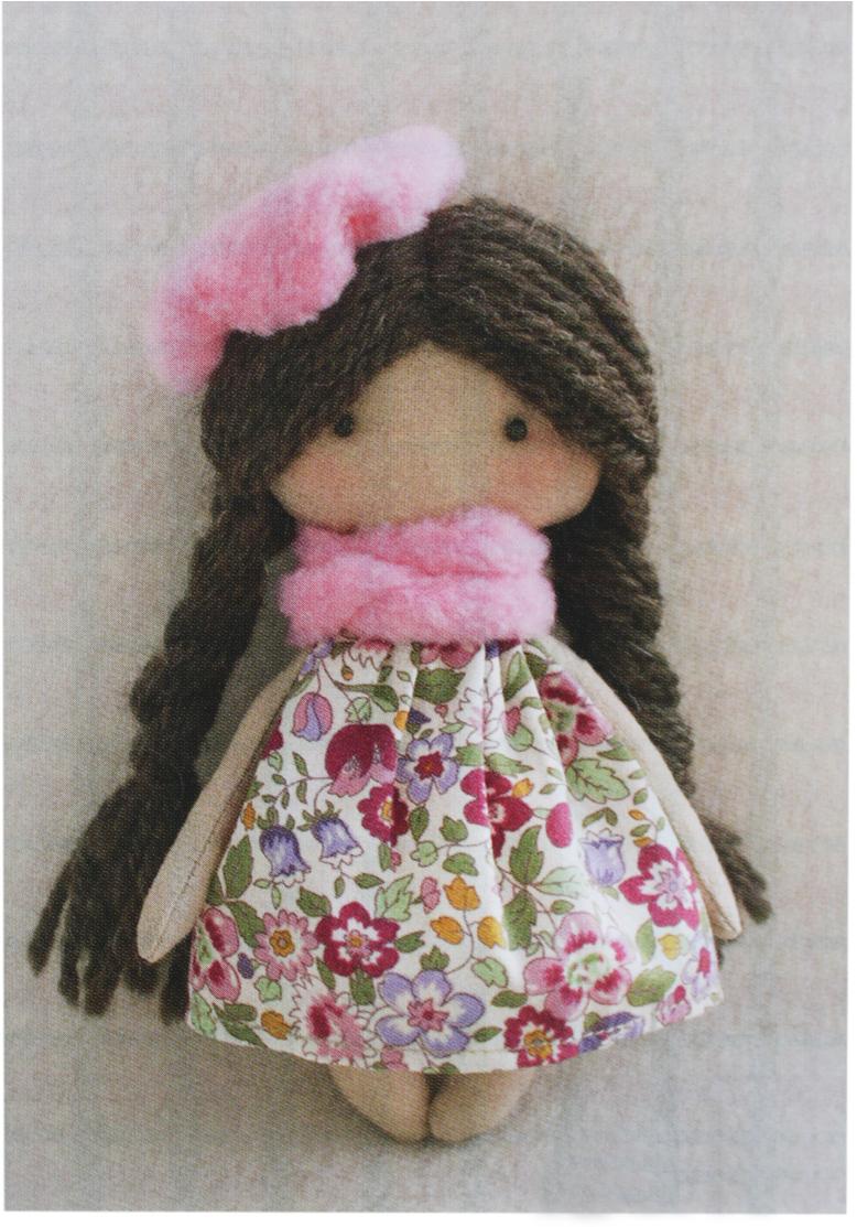 Фото - Набор для изготовления игрушки Ваниль Happy Hands. Софийка, высота 15 см набор для изготовления текстильной игрушки ваниль зайка ягодка высота 20 см