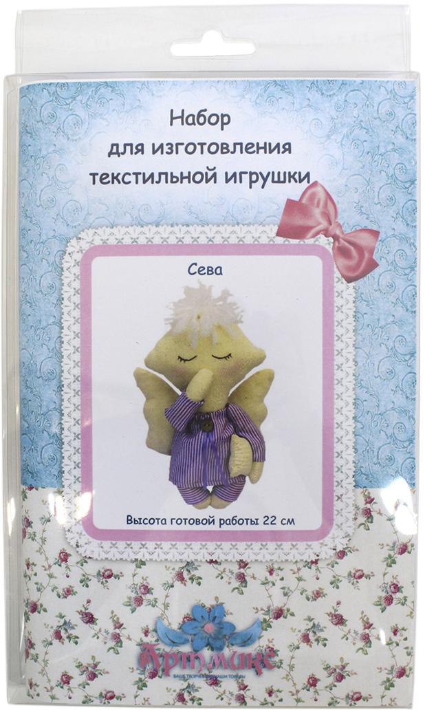 """Набор для изготовления игрушки Артмикс """"Сева"""", в ассортименте, высота 22 см. AM100012"""