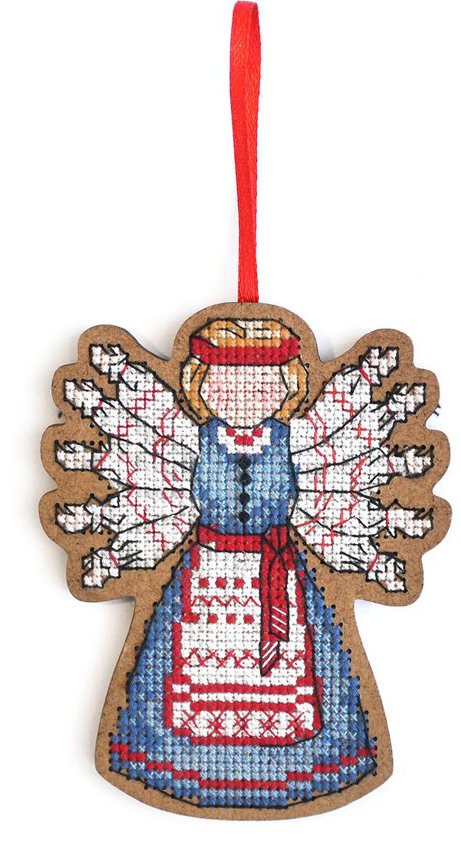 Набор для вышивания крестом Созвездие Помощница. Десятиручка, 9,5 х 7,5 см набор для вышивания крестом созвездие добрая дорога подорожница 9 х 4 5 см